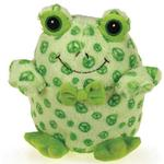 View Image 2 of Grriggles Bowtie Buddies Dog Toy - Frog