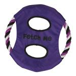 View Image 1 of Grriggles Fetch Me Flyer Dog Toy - Ultra Violet