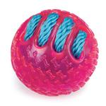View Image 1 of Grriggles FUNdamentals Ball Dog Toy - Raspberry