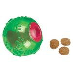 View Image 1 of Grriggles FUNdamentals Treat Ball Dog Toy - Parrot Green