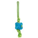 View Image 1 of Grriggles FUNdamentals Treat Tugs Dog Toy - Bluebird