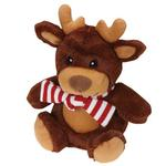 View Image 1 of Grriggles Jolly Snugglers Dog Toy - Reindeer
