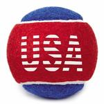 Grriggles Stars and Stripes Tennis Balls Dog Toy