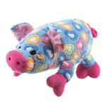 View Image 1 of Grriggles Whole Hearted Hog Dog Toy - Blue