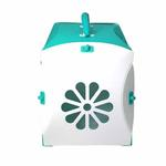 View Image 3 of Guardian Gear Blossom Color-Me Pet Crate - Sea Glass