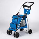 View Image 2 of Guardian Gear Classic II Dog Stroller - Royal Blue