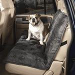 View Image 1 of Guardian Gear Pawprint Seat Covers - Charcoal