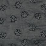 View Image 2 of Guardian Gear Pawprint Single Seat Cover - Charcoal