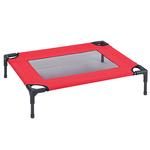 View Image 3 of Guardian Gear Pet Cot with Mesh Panels - Crimson
