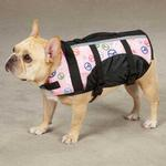 View Image 4 of Guardian Gear Printed Pet Preserver - Peace Sign