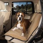 View Image 1 of Guardian Gear Quilted Microfiber Car Seat Cover - Cappuccino