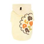 View Image 3 of Hallmark Hooded Dog Shirt by Puppia - Light Yellow