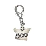 View Image 1 of Halloween Dog Collar Charm - Ghost Lobster Claw