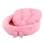 View Image 5 of Halo Dog Bed by Pinkaholic - Pink