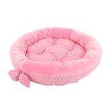 View Image 3 of Halo Dog Bed by Pinkaholic - Pink