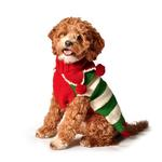 View Image 1 of Handmade Christmas Elf Wool Dog Sweater