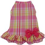 View Image 1 of Happy Plaid Dog Dress