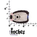 View Image 2 of Hard Boiled Softies Dog Toy - Huey the Hedgehog