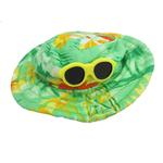 View Image 1 of Hawaiian Dog Hat - Green