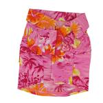 View Image 2 of Hawaiian Print Dog Shirt - Pink