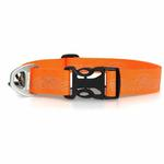 View Image 2 of Headwater Dog Collar by RuffWear - Orange Sunset