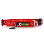 View Image 3 of Headwater Dog Collar by RuffWear - Red Currant