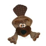 View Image 1 of Hear Doggy Flat Dog Toy - Beaver