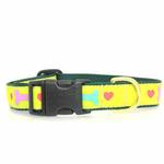 View Image 2 of Heart and Bone Dog Collar by Up Country