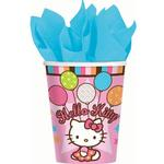Hello Kitty Party Supplies - 9oz Party Cups