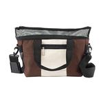 View Image 1 of Hemp Messenger Dog Carrier by Doggles - Brown