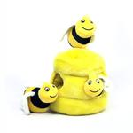 Hide-a-Bee Plush Dog Puzzle Toy