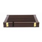 View Image 2 of Highlander Free Standing Walk-Through Dog Gate - Mahogany
