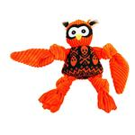 HuggleHounds Halloween Knotties Dog Toy - Owl