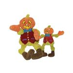View Image 1 of Hugglehounds Knottie Dog Toy - Pat the Pumpkin Man
