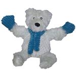 View Image 1 of Hugglehounds Knottie Dog Toy - Polar Bear