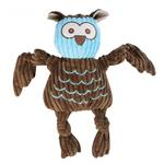 HuggleHounds Woodland Knotties Dog Toy - Owl
