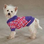 View Image 3 of Hugs & Kisses Pullover Dog Hoodie