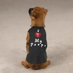 View Image 1 of I Love My Peeps Dog Tank Top