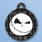 View Image 1 of Jack Skellington QR Code Pet ID Tag