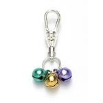 View Image 1 of Jingle Bell New Orleans Style Dog or Cat Collar Charm