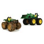 John Deere Toys - Monster Treads Gator and Tractor Loader 2-Pack