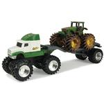 John Deere Toys - Monster Treads Tractor and Semi 2-Pack