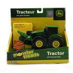 John Deere Toys - Monster Treads Tractor with Pop-Out Claw