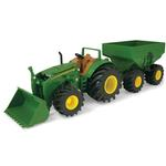 John Deere Toys - Tractor with Gravity Wagon & Loader