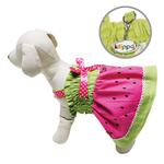 View Image 2 of Juicy Watermelon Dog Sundress by Klippo