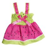 View Image 1 of Juicy Watermelon Dog Sundress by Klippo