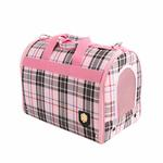 View Image 2 of Junior Cage Dog Carrier by Puppia - Pink