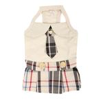 View Image 1 of Junior Dog Dress by Puppia - Beige