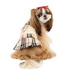 View Image 3 of Junior Dog Dress by Puppia - Beige