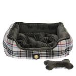 View Image 2 of Junior House Dog Bed by Puppia - Gray